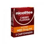 Nicolites refills cherry