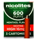 Nicolites High Strength Menthol