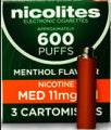 Nicolites Mediym Strength Menthol